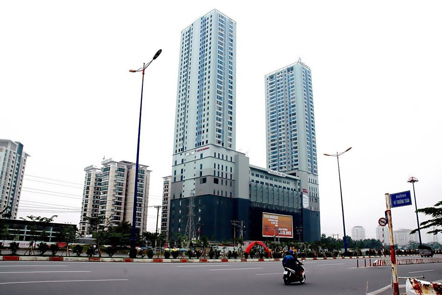 Cantavil Premier Building, Grade B Office for lease in District 2, HCM City