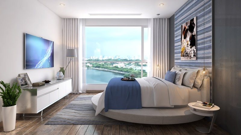 02 bedrooms 80sqm with beautifully furniture for lease in Vinhomes Central Park